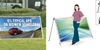 Vision outdoor bannerstand 3000mm