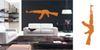 AK47 vinyl wall graphic